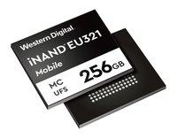 西部数据发布针对移动平台的96层嵌入式闪存盘