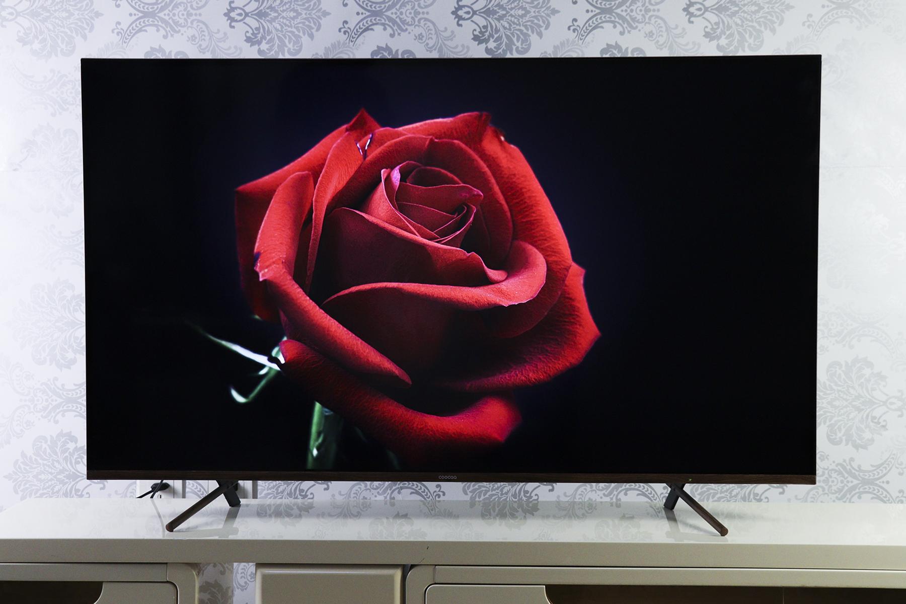 融合中国古典设计美学  酷开C60全面屏护眼电视图赏