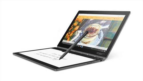 YOGA Book 2 海内首发: E-Ink代替传统键盘