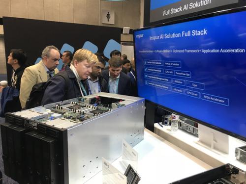 浪潮在美发布搭载NVIDIA GPU的最强AI超级服务器AGX-5