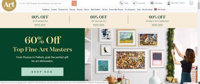 网站怎么赚钱:沃尔玛计划收购家居装饰网站Art.com 预计明年完成