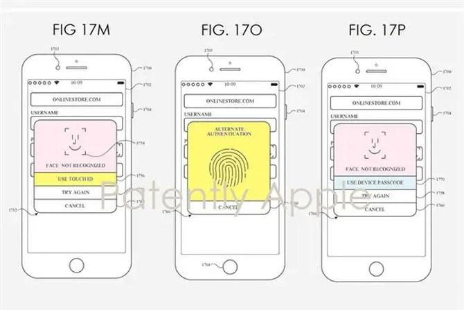 苹果新专利曝光 指纹识别或将重回iPhone