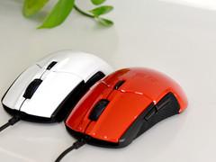 红黑双雄 镜面高颜 赛睿 Sensei 310 游戏鼠标图赏