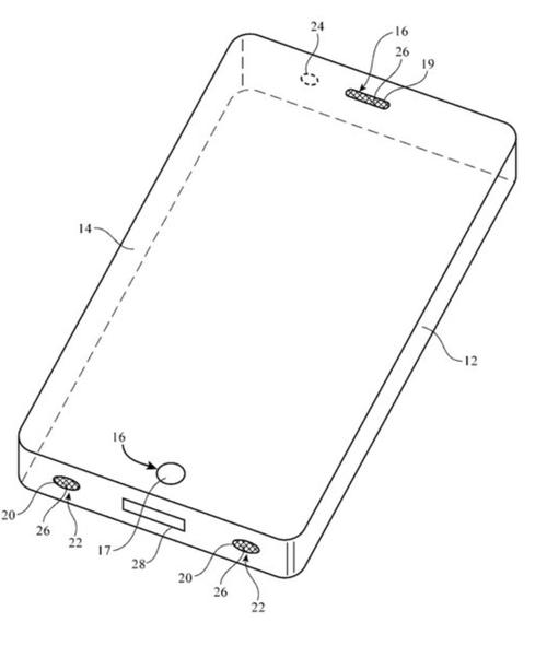 苹果公司新专利:可在电子设备安装环境传感器