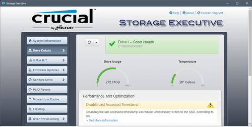 SSD监控软件