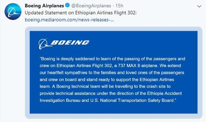 泰国民航局下令暂时停飞波音737MAX9飞机