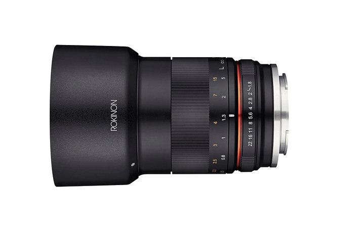 非全幅微单手动头 三阳85mm F1.8大光圈镜头即将发布