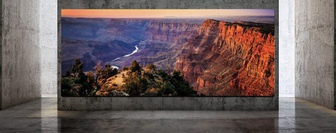 奢侈!三星推出巨无霸电视The Wall Luxury,可扩展到292英寸