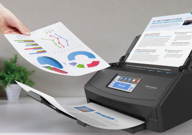 富士通高速文档扫描仪ScanSnap iX1500玄色版上市