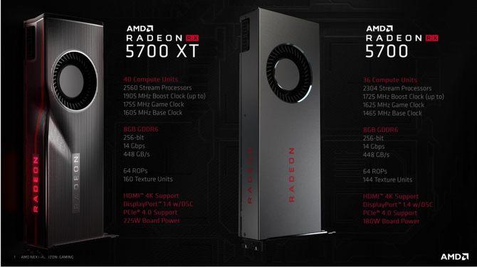 官宣!AMD RX 5700系列显卡上市前大贬价!最高可达500元