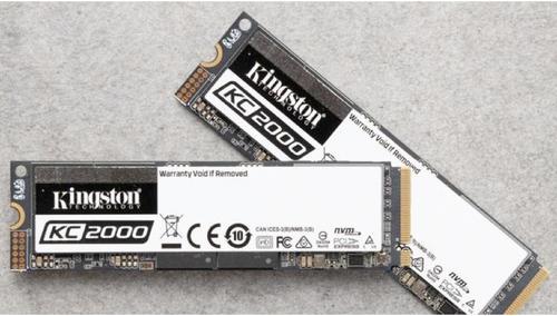 为高机能而生 金士顿KC2000 M.2 NVMe固态硬盘上市