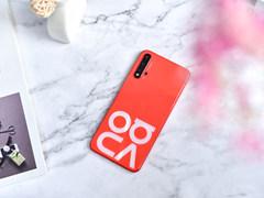 """潮流""""大字母""""设计,华为nova5 Pro星耀限定版珊瑚橙图赏"""