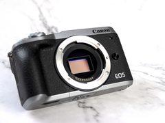 放在口袋里的APS-C画幅无反 EOS M6 Mark II外观图赏