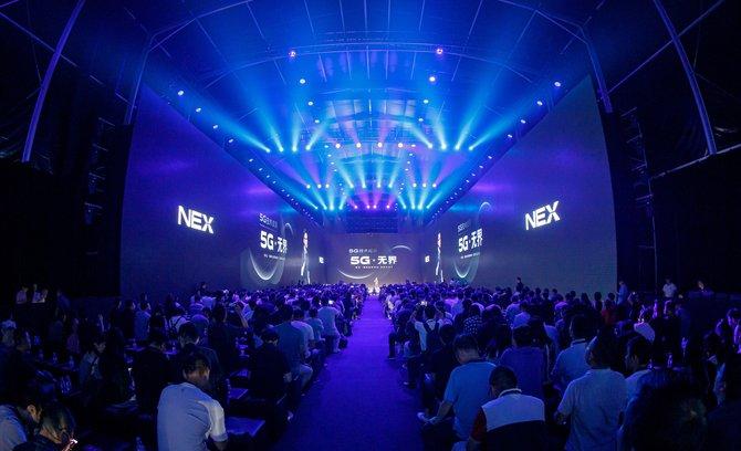 NEX 3正式发布 瀑布屏+5G体验引领下一个未来