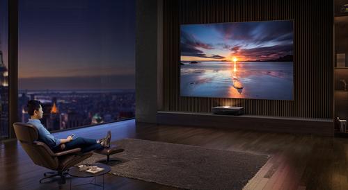 音画全面提升 极米4K激光电视A2