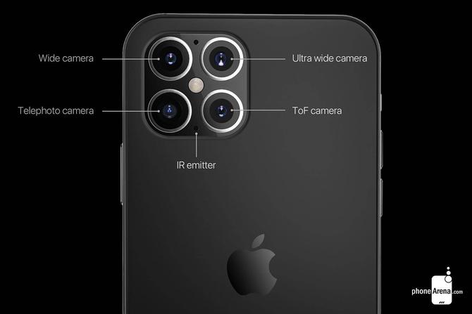 回归经典,刘海变小,iPhone 12最新渲染图出炉!