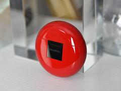 圣诞送给女友的甜蜜好礼 华为FreeBuds3 密语红开箱
