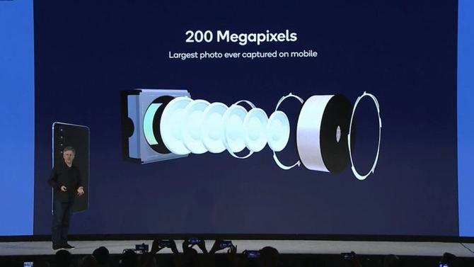 支持2亿像素传感器,骁龙865