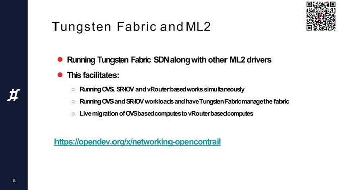 Tungsten Fabric架构和最新技术进展丨TF成立大会演讲实录