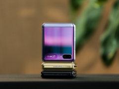 """复古""""翻盖""""手机 三星Galaxy Z Flip三色上手图赏"""