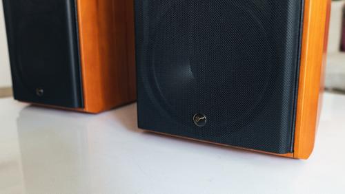 有源HiFi音箱新进化,惠威M5A三分频书架音箱评测