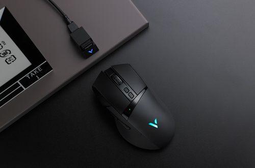 居家办公/游戏双优选 雷柏VT350Q无线充电鼠标办公体验