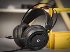 流光RGB 雷柏VH500虛擬7.1聲道游戲耳機賞析
