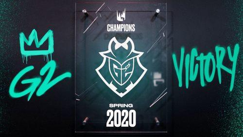 火力全开!G2横扫FNC,斩获2020英雄联盟LEC赛区春季赛冠军!