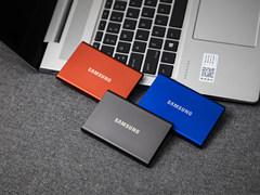 移动固态硬盘新标杆 三星T7移动SSD图评
