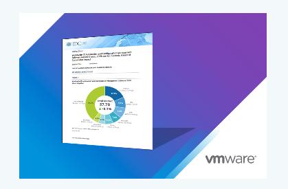 VMware连续三年位居IT自动化和配置市场首位