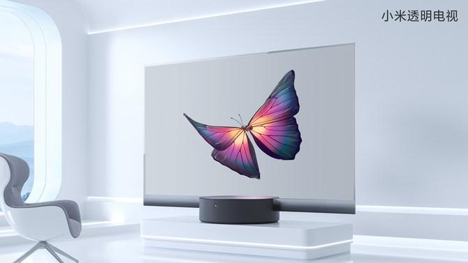 向高端进击 小米十周年首款量产透明电视诞生