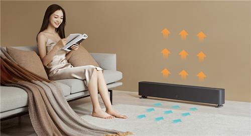 米家踢脚线电暖器1S发布:恒温+智能控制插图2