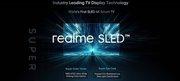 realme官宣,全球首发SLED智能电视