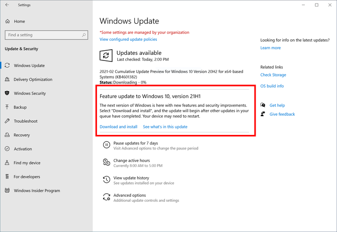 Windows 10 21H1版更新 Windows Hello新增功能
