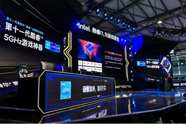 为游戏而生 Intel众多顶级游戏装备亮相2021ChinaJoy