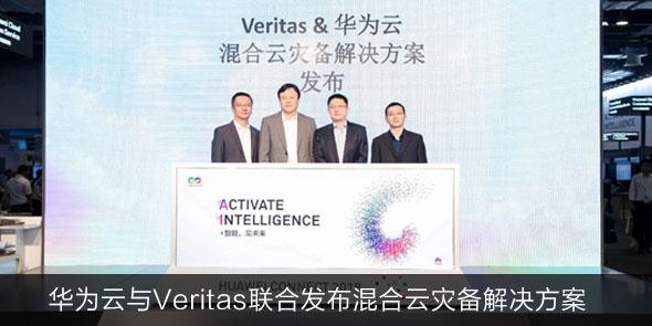 华为云与Veritas联合发布混合云灾备解决方案