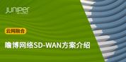瞻博网络SD-WAN方案介绍