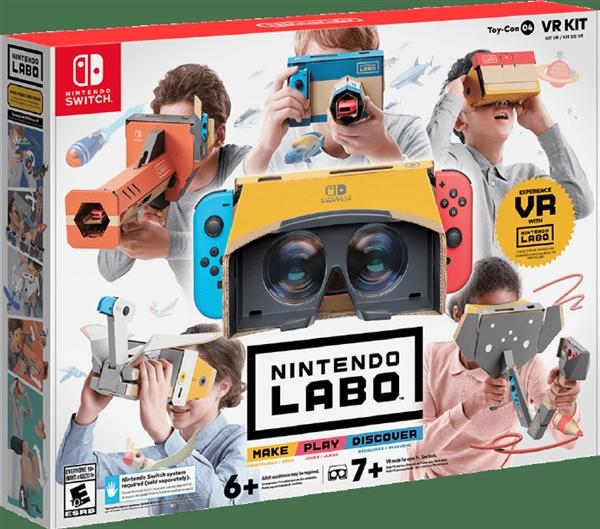 任天堂发布Labo VR:Switch秒变VR眼镜