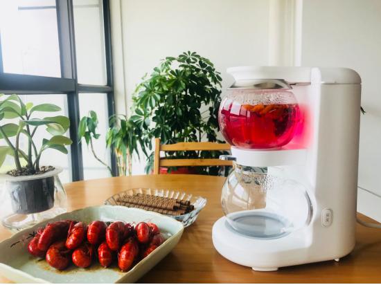 新式玻璃电茶具鸣盏茶饮机MZ