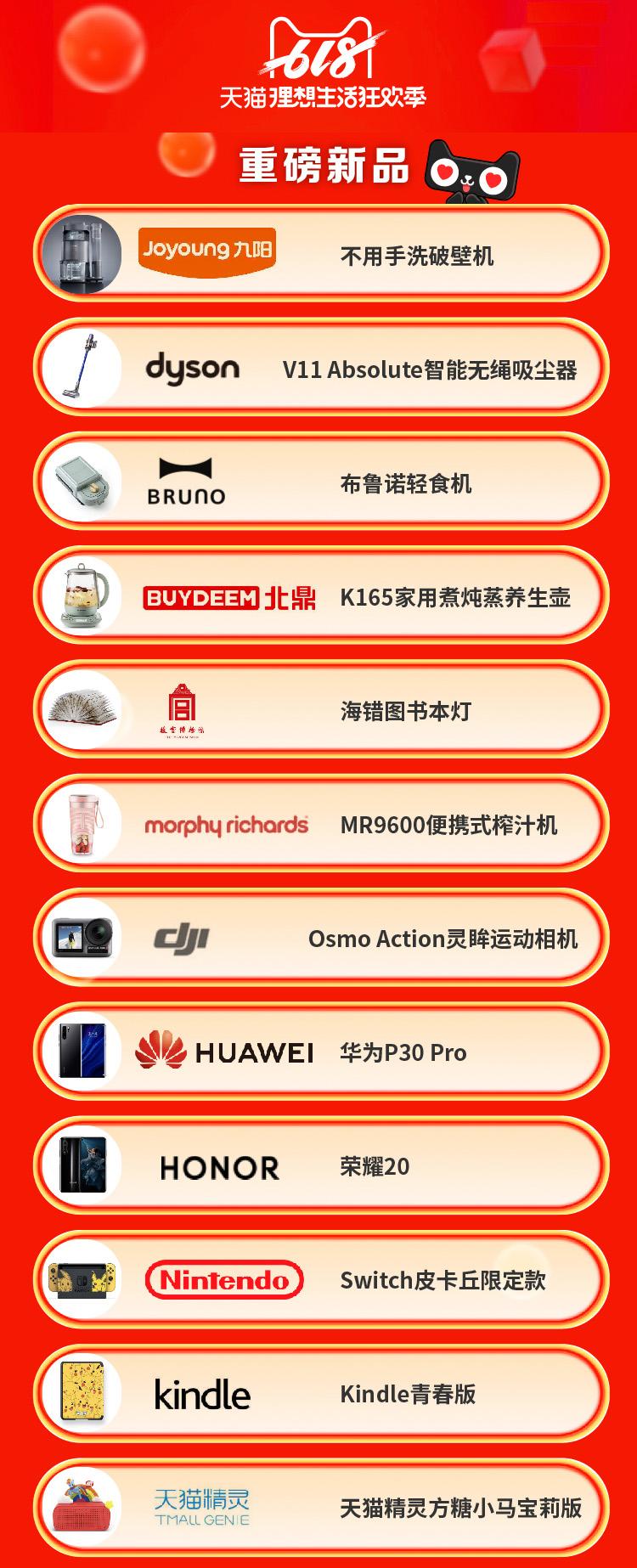 最让利天猫618:10万件数码家电产品5折 iPhone也在内