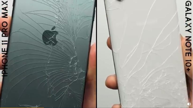 """iPhone11系列跌落测试证明:高额屏幕维修费用""""雨女无瓜"""""""