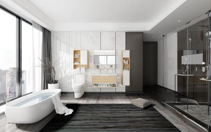 四季沐歌浴室柜,构筑卫浴精神家园
