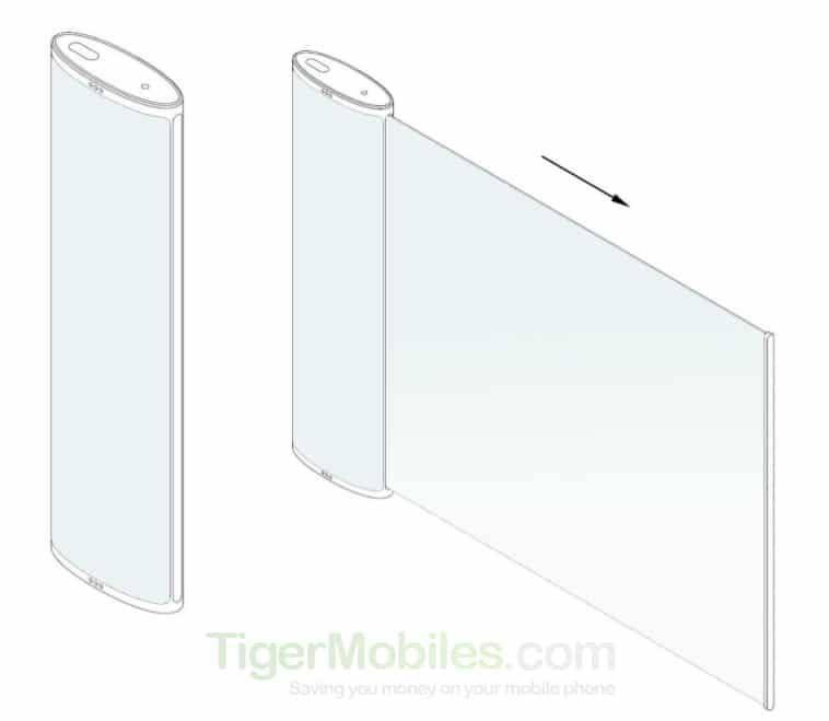 男子涂鸡血自导绑架案:LG手机设计专利曝出:像电视遥控器藏了一块大屏幕