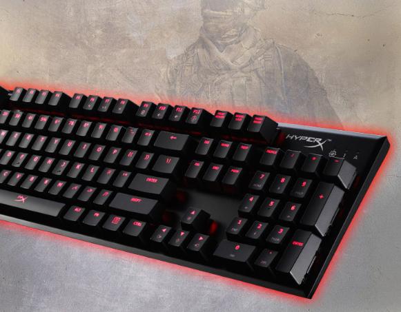 HyperX 阿洛伊专业电竞机械键盘限时特惠!直降