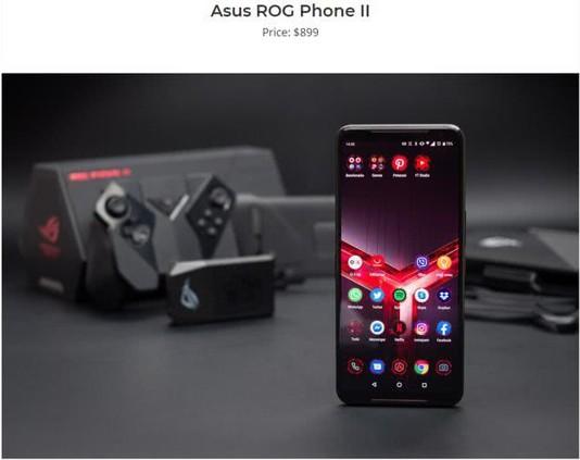 """玩游戏推荐手机ROG游戏手机2 主流配置应有尽有 """"非主流""""配置亦兼备!"""