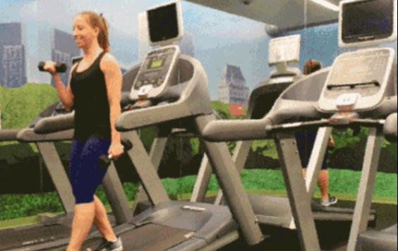 """""""使用跑步机锻炼还可以用这些动作""""的第2张图片"""
