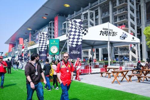 九号卡丁首次助阵F1中国大奖赛 车迷体验现场火