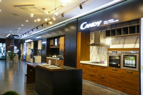 Candy物联厨房亮相海尔国际厨房