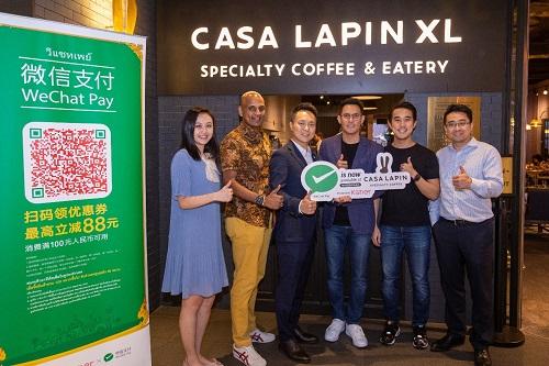 微信支付联合泰国Casa Lapin推出