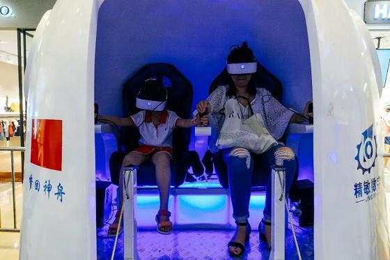 呼和浩特暑假去哪儿玩?回民区万达VR航天航空体验展 好评如潮!